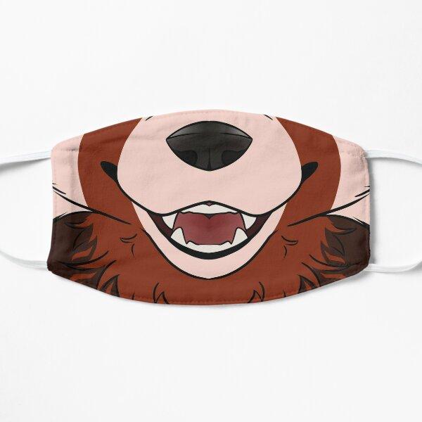 Red Panda Maw Flat Mask