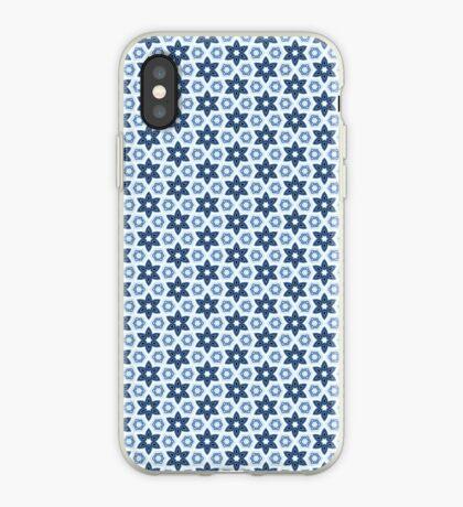 Blue star pattern iPhone case iPhone Case