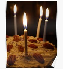 Maple and Pecan Layer Cake Poster