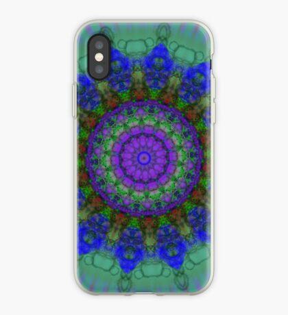 Purple Fantasy mandala pattern iPhone case iPhone Case