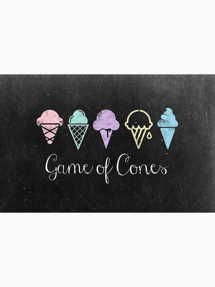 Game Of Cones by bubbliciousart