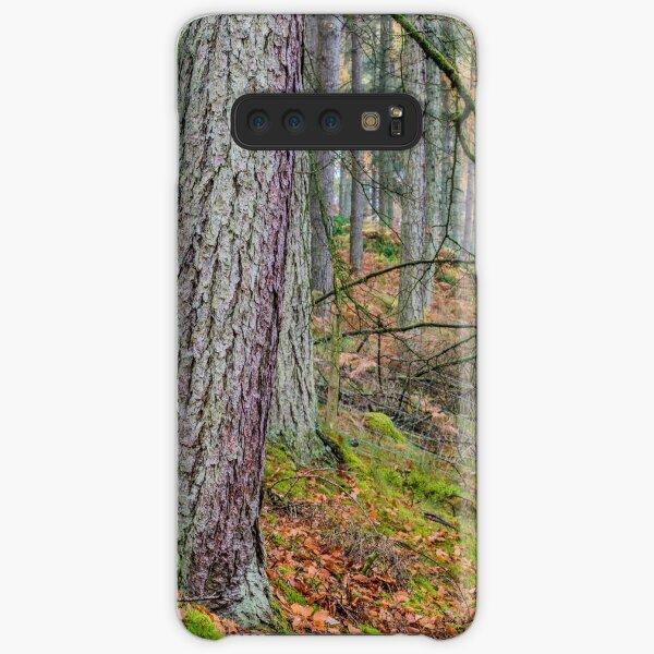 Pine Forest in Claerwen Valley Mid Wales Samsung Galaxy Snap Case