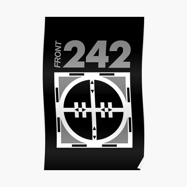 Front 242 - EBM Poster