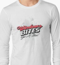 Windows Bites - Get a Mac!  |  for Light Colors Long Sleeve T-Shirt