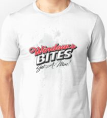 Windows Bites - Get a Mac!  |  for Light Colors T-Shirt