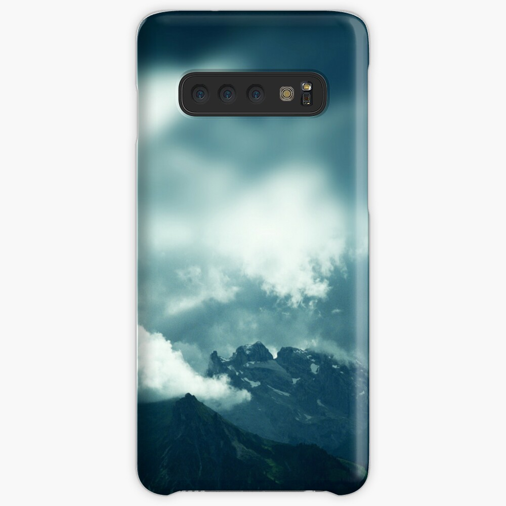 Clouds over Drusenfluh Case & Skin for Samsung Galaxy