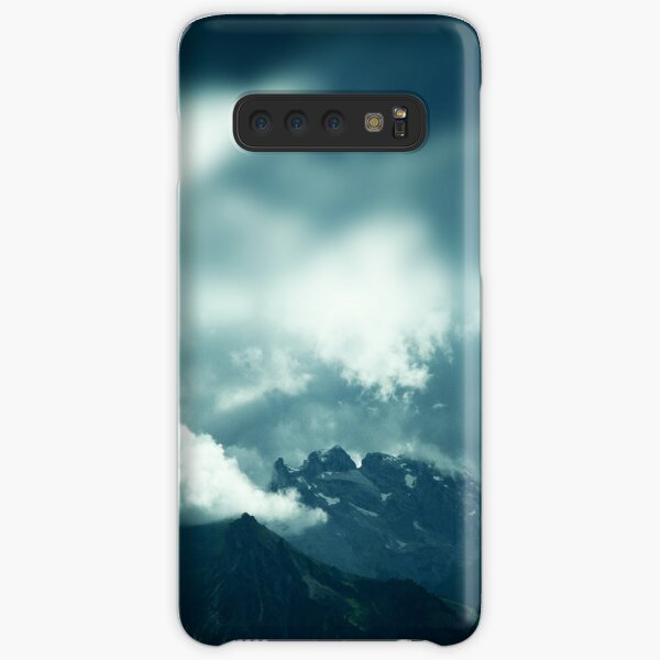 Clouds over Drusenfluh Samsung Galaxy Snap Case