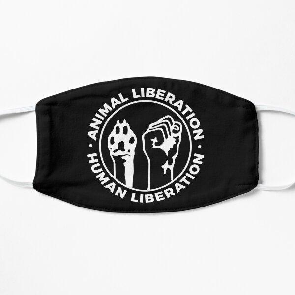 Animal liberation Human liberation logo 1980 Flat Mask