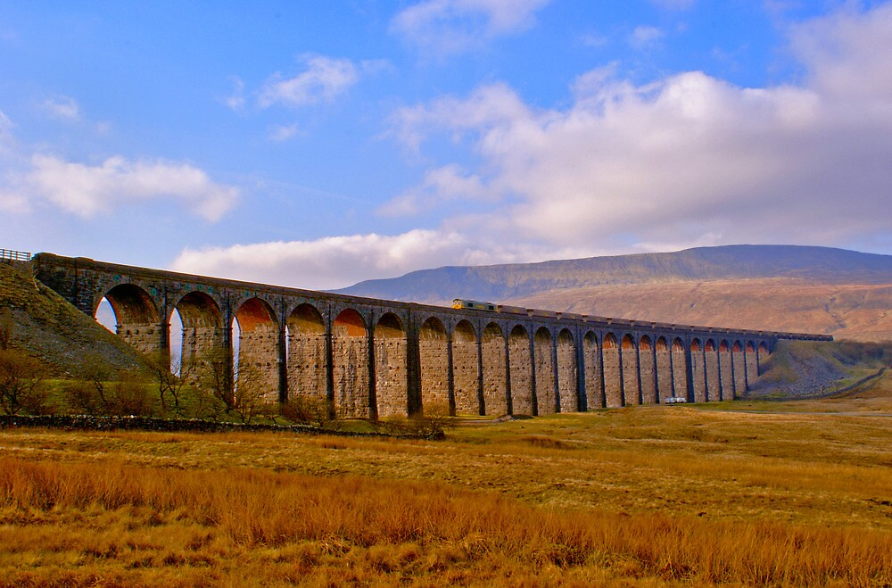Whernside - Trainscape by Lee Priest
