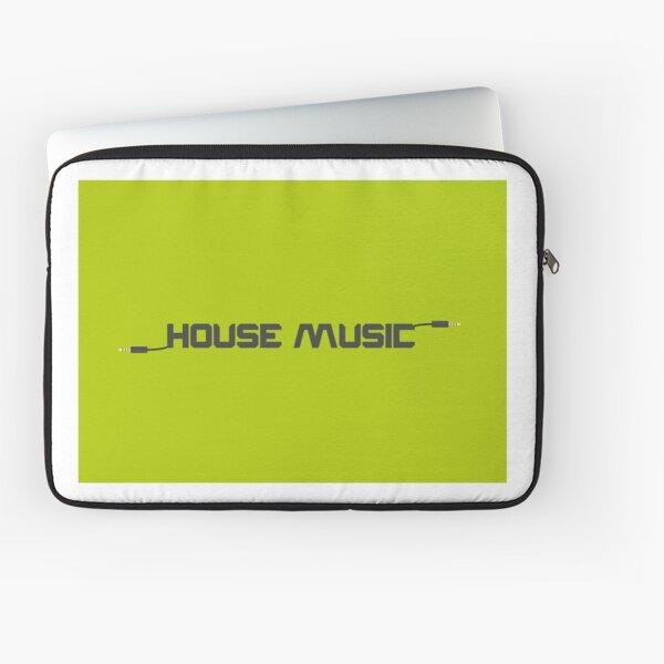 House Music Laptop Sleeve