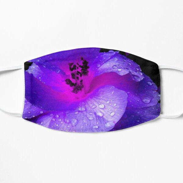 Purple Jewel Drops Flat Mask