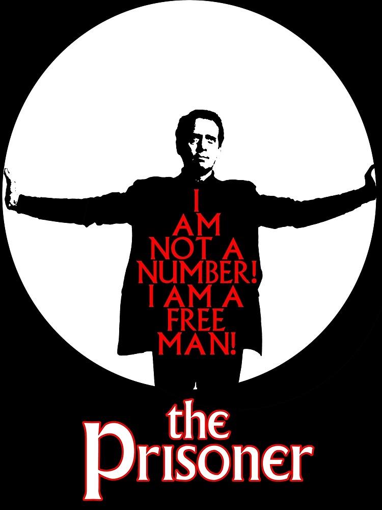 The Prisoner - I AM NOT A NUMBER! by scribbledeath