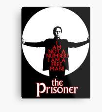 The Prisoner - I AM NOT A NUMBER! Metal Print