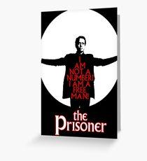 The Prisoner - I AM NOT A NUMBER! Greeting Card