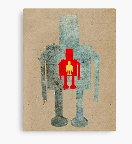 Robot Boy Canvas Print