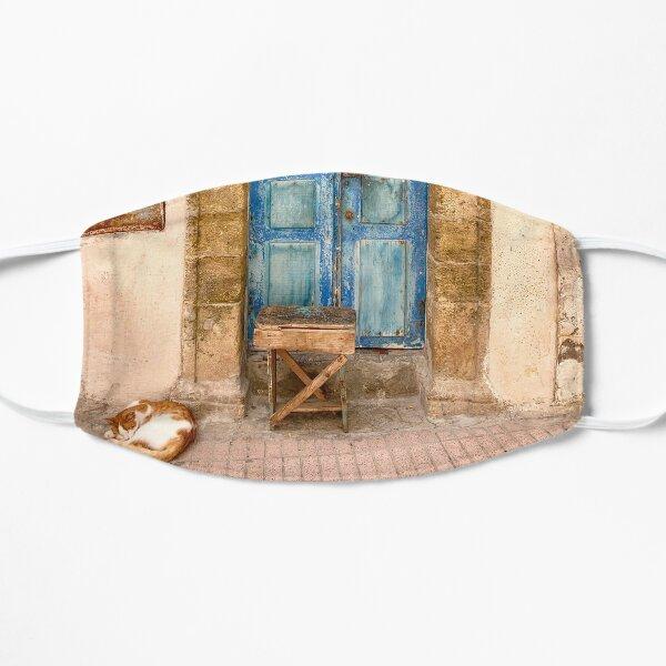 Blue door in Essaouira, Morocco Mask