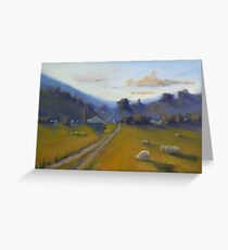 Quiet country  Greeting Card