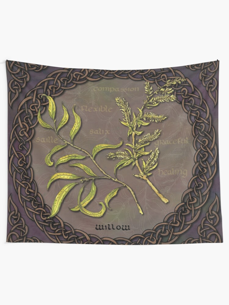 Alternate view of Celtic Willow Tapestry