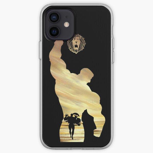 Escanor - Sept péchés capitaux Coque souple iPhone