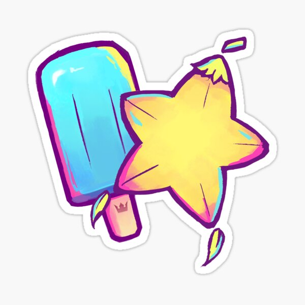 Kingdom Hearts Seasalt et Paopu Pattern Sticker