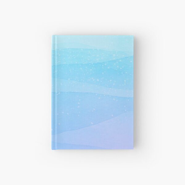 Purple Ocean Hardcover Journal