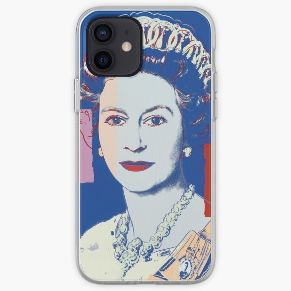Queen's portrait iPhone Soft Case
