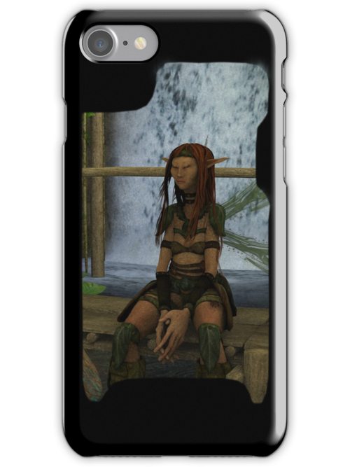 Iphone Cover -  Meditation by Pendraia