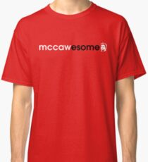 McCawesome White/Black Classic T-Shirt