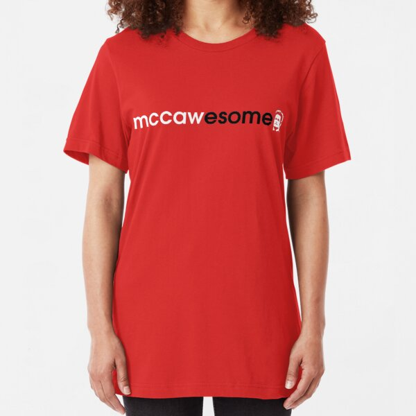 McCawesome White/Black Slim Fit T-Shirt