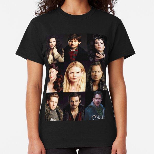 Once Upon A Time Regina Evil isn/'t Born Ladies T Shirt