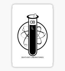 Deathbot Laboratories Logo Sticker