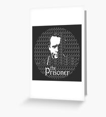 The Prisoner Greeting Card