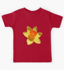Daffodil Emblem Isolated Kids Tee
