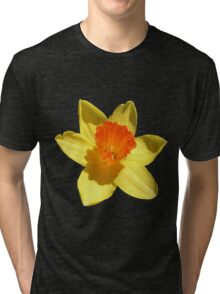 Daffodil Emblem Isolated Tri-blend T-Shirt