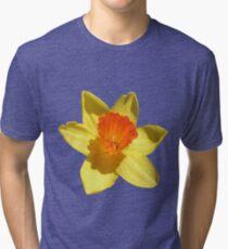 Daffodil Emblem Isolated Tri-blend T-Shirt
