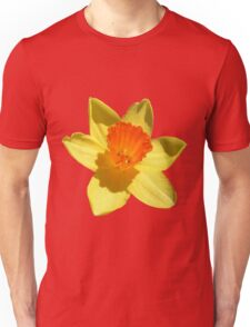 Daffodil Emblem Isolated Unisex T-Shirt
