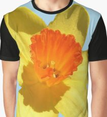Daffodil Emblem Isolated Graphic T-Shirt