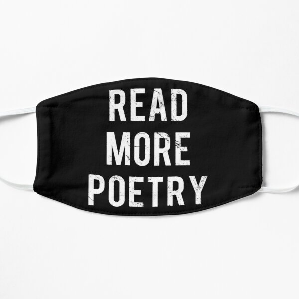 Read More Poetry Flat Mask