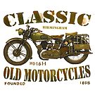 WD MOTORCYCLES T SHIRT DESIGN by JohnLowerson