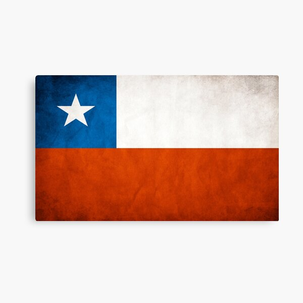 Chile   Bandera chilena   Bandera nacional de chile Lienzo