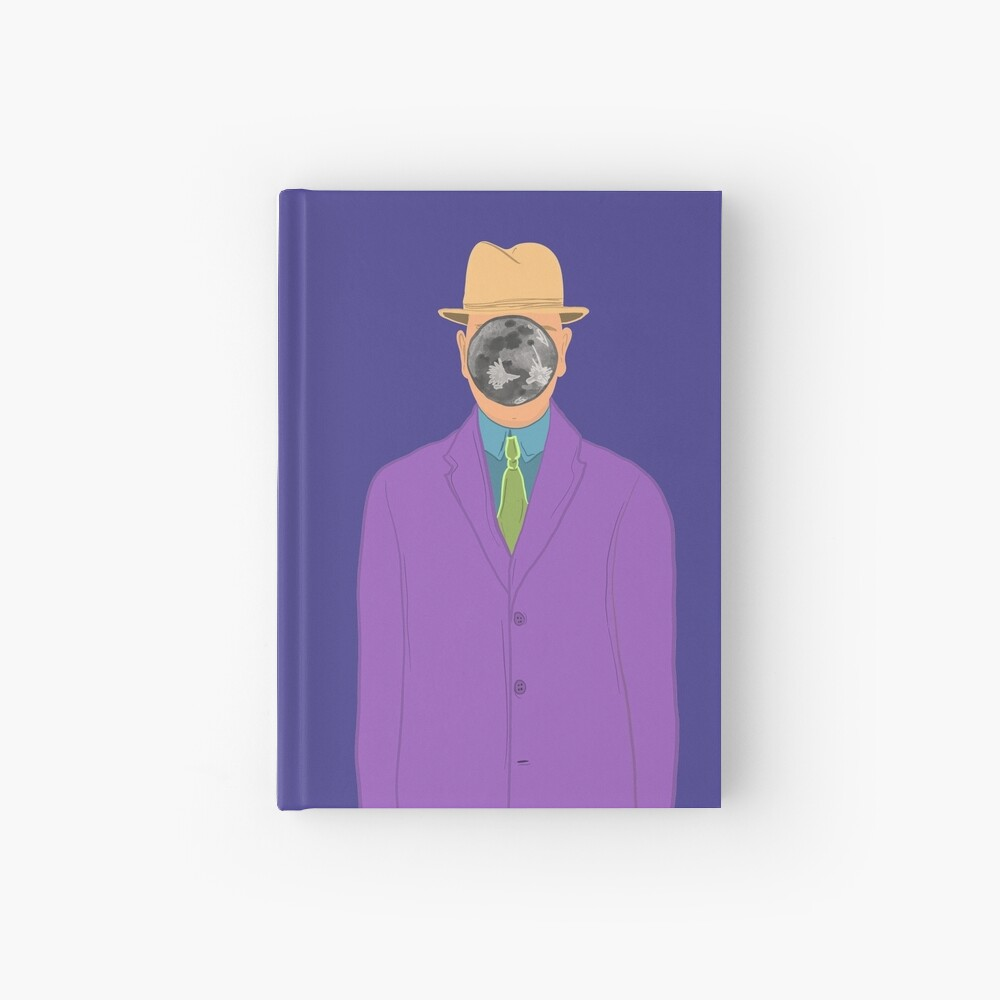 Moon Face Hardcover Journal