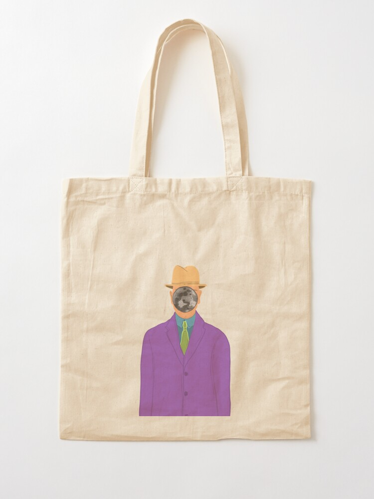 Alternate view of Moon Face Tote Bag
