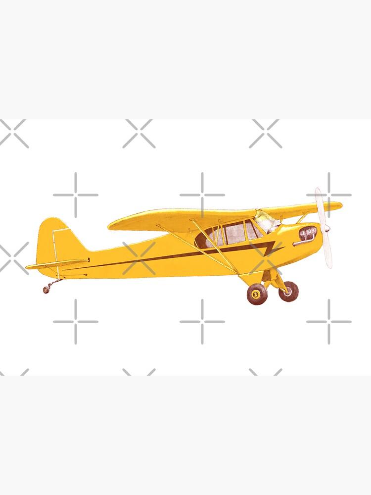 Little Yellow Plane by florentbodart