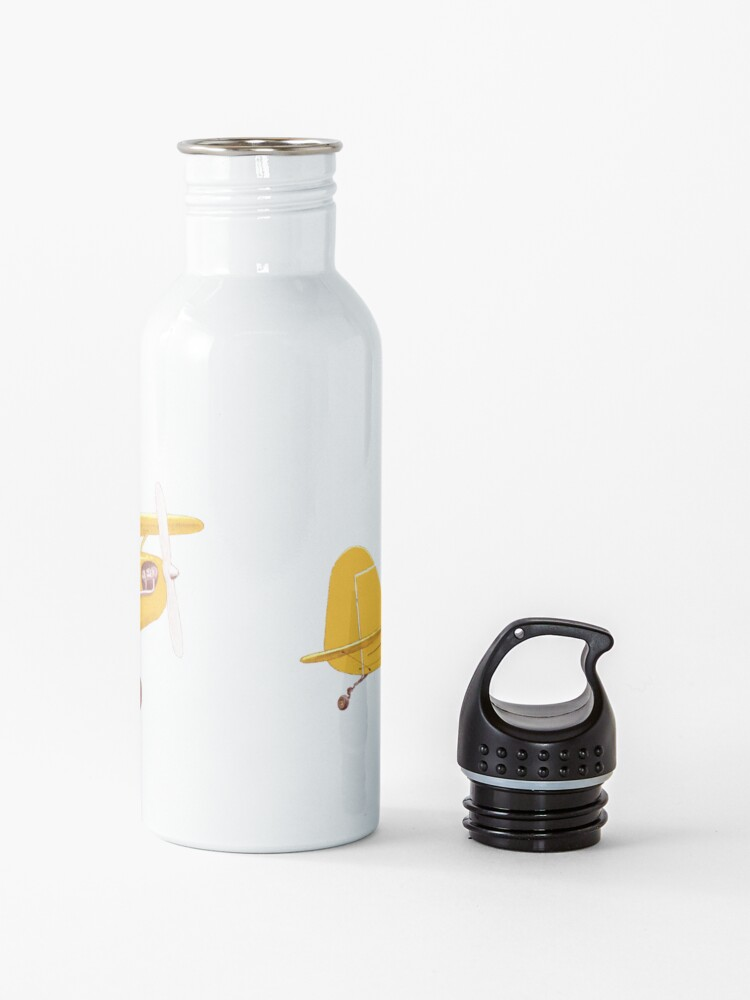 Alternate view of Little Yellow Plane Water Bottle