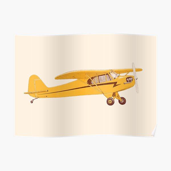Little Yellow Plane Poster