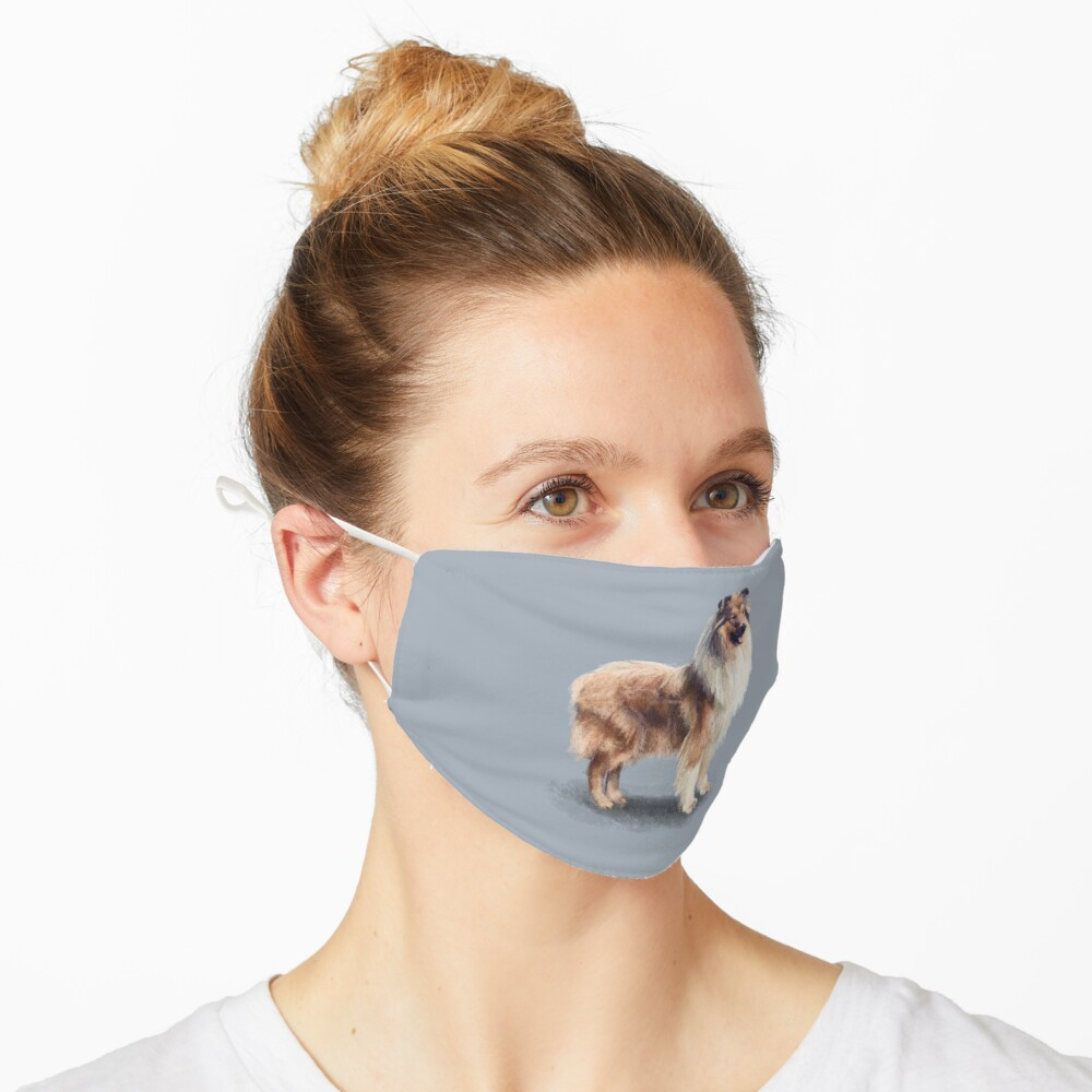 The Rough Collie Mask