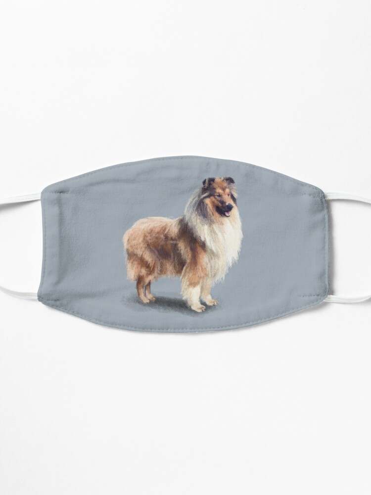 Alternate view of The Rough Collie Mask