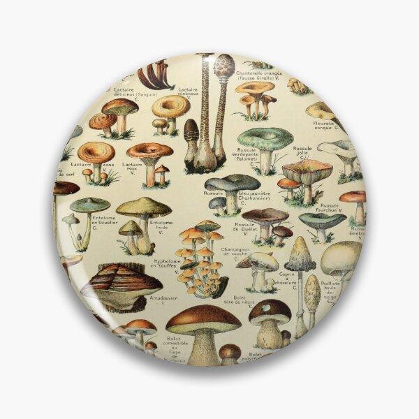 Mushrooms Pin