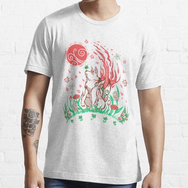 Wolf Blossom Breeze Essential T-Shirt