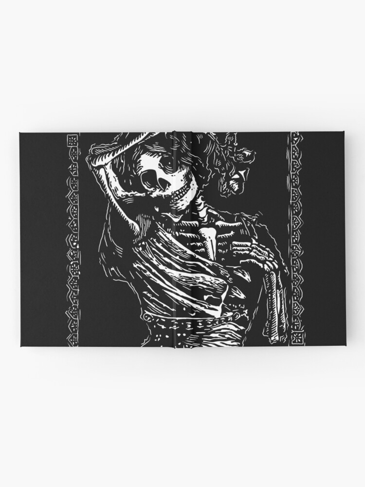 Alternate view of Day of the Dead - Queen of Clubs Hardcover Journal